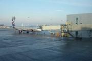 Рейс SU15 отправляется от гейта D01. Рядом гейт D02. // Travel.ru