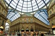Стеклянный купол над галереей Виктора Эммануила II в Милане // visititaly.com