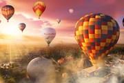 Над парком можно полетать на воздушном шаре.  // europapark.de