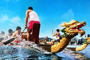 Гонка лодок-драконов в Гонконге // discoverhongkong.com