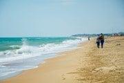На пляже в Благовещенской - он в числе лидеров рейтинга Travel.ru // Дарья Орешкина