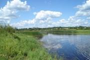 На протяжении реки Луга есть как запрещенные, так и разрешенные для купания места. // foto-planeta.com