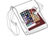 Водонепроницаемую сумку можно взять с собой в море. // dailymail.co.uk