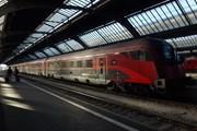 Поезд railjet линии Вена - Будапешт // Travel.ru