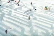 Строительство лабиринта в Закопане. // mentalfloss.com