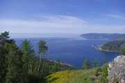 Живописное озеро Байкал // wikipedia.org