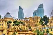 Баку, Азербайджан // Leonid Andronov, shutterstock.com