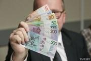 Новые белорусские рубли // tut.by