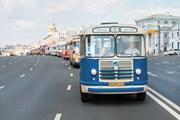 Парад ретроавтобусов // mosgortrans.ru