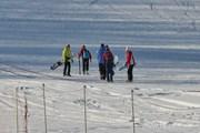 Снегопады позволили открыть сезон раньше обычного. // bkatun.ru