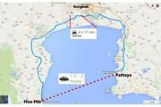 Туристы смогут преодолеть расстояние между курортами за два часа. // Bangkok Post