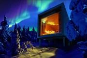 Один из коттеджей Arctic ThreeHouse // arctictreehousehotel.com