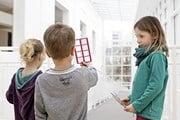 Дети в Музее прикладного искусства