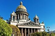 Исаакиевский собор - одна из самых посещаемых достопримечательностей Санкт-Петербурга. // Valeri Potapova, shutterstock