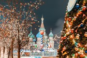 Москва приняла 2,5 миллиона гостей в новогодние праздники.