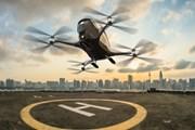 Испытания воздушного такси прошли успешно. // chatru.com