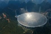 Телескоп FAST находится в горах Китая. // news.cn