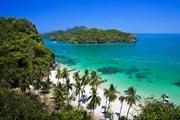 Пляж в национальном парке Mu Ko Ang Thong // thainationalparks.com