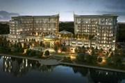 Отель расположен в Центральном парке столицы Казахстана. // thestregisastana.com