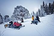 Туры на снегоходах предлагает Кавказский биосферный заповедник. // kvadrobaza.ru