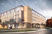 Четырехзвездочная гостиница расположена недалеко от аэропорта. // marriott.com