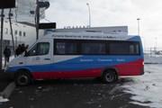 Микроавтобус на автостанции аэропорта Самары // Юрий Плохотниченко