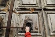 Закрытые врата храма Гроба Господня // Ammar Awad, Reuters