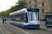 Трамвай в Амстердаме // Юрий Плохотниченко