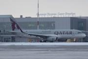 Самолет Qatar Airways в Санкт-Петербурге // Юрий Плохотниченко