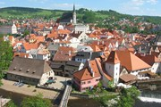 Чески-Крумлов - один из красивейших городов Чехии. // Rubel, Wikipedia