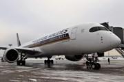 Самолет Singapore Airlines // Юрий Плохотниченко