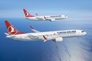 Рендеры самолетов Boeing 737 MAX 8 и MAX 9 Turkish Airlines // boeing.com