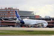 Airbus A350 Qatar Airways // Юрий Плохотниченко