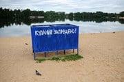 Роспотребнадзор проверил качество воды в городских водоемах. // vsev.net