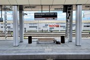 Восточный вокзал Москвы перед открытием // Юрий Плохотниченко