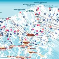 Схема трасс в Труа-Валле
