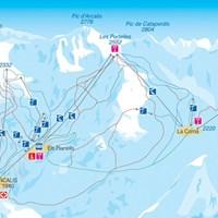 Схема трасс Ордино - Аркалис