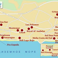 Карта Торремолиноса