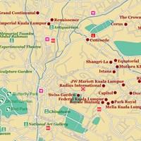 Карта Куала-Лумпура