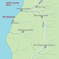 Карта курорта Геленджик