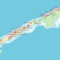 Карта курорта Варадеро