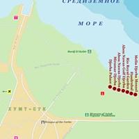 Карта курорта Джерба