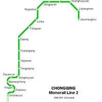 Схема метро в Чонзине