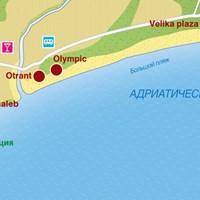 Карта курорта Ульцинь