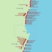 Карта курорта Кемер