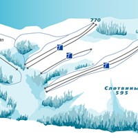 Схема трасс в Слотвинах
