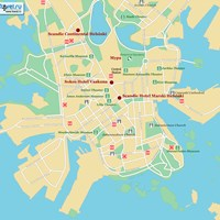 Карта Хельсинки