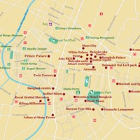 Карта Бангкока
