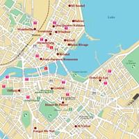 Карта Женевы