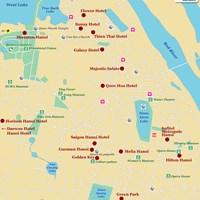 Карта Ханоя